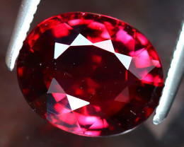 Rhodolite 2.97Ct Natural VVS Purplish Red Rhodolite Garnet DF2523/A5