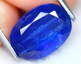 Kyanite 4.33Ct Oval Cut Natural Himalayan Royal Blue Color Kyanite A2412