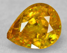 0.59 CT SPHENE WITH DRAMATIC FIRE AFGHANISTAN SP46