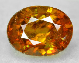 NATURAL SPHENE WITH DRAMATIC FIRE AFGHANISTAN SP47