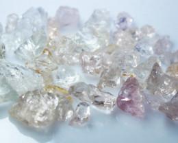 85.90 CT Natural - Unheated Pink Morganite Rough Lot