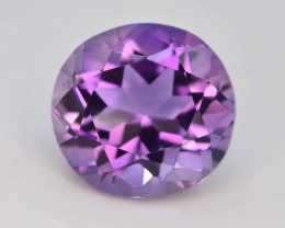 Top Color 4.30 ct AAA Cut Untreated Amethyst~ AS