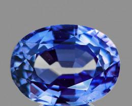 6x4 mm Oval 0.52ct Blue Sapphire [VVS}