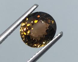 2.07 carat VVS Tourmaline Precision Cut and Polished Mozambique !