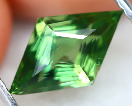 Green Apatite 1.34Ct VS Master Cut Natural Green Apatite AT0444