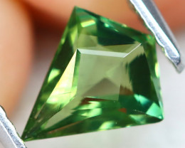 Green Apatite 0.78Ct VVS Master Cut Natural Green Apatite AT0452