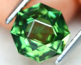 Green Apatite 1.26Ct VS Master Cut Natural Green Apatite AT0466