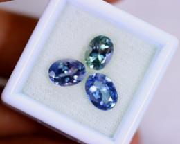4.42cts Natural Violet Blue D Block Tanzanite Lots/MA653