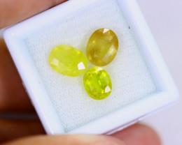 7cts Natural Natural Yellow Sapphire Lots / MA658