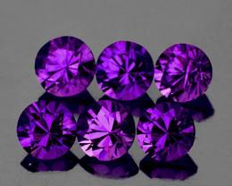 3.00 mm Round 18 pcs Intense Purple Sapphire [VVS]