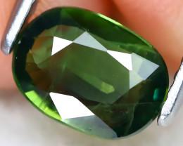 Parti Sapphire 1.12Ct VS Master Cut Natural Green Parti Sapphire B2503