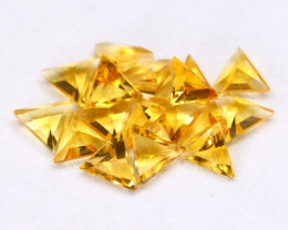 Golden Yellow Cittine 5.57Ct 17Pcs Natural Golden Yellow Cittine Lot B2507
