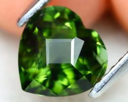 Tourmaline 1.10Ct VVS Master Cut Natural Green Tourmaline A2515