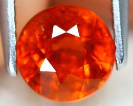 Mandarin Spessartite 1.31Ct Round Cut Natural Spessartite Garnet A2518