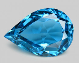*No Reserve* London Topaz 5.42 Cts London Blue Natural Loose Gemstone