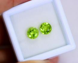 1.76cts Natural Apple Green Colour Peridot / MA687