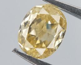 Light Color Diamond , Oval Brilliant Cut , 0.25 cts