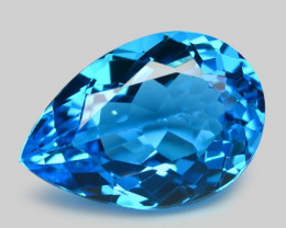 8.41 Carat Swiss Blue Natural Topaz Gemstone