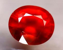 Garnet 3.20Ct Natural Reddish Orange Spessartite Garnet EA2612/B34