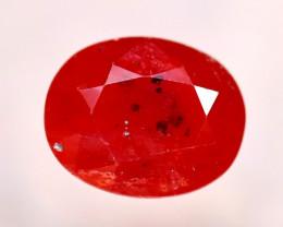 Sapphire 2.54Ct Natural Reddish Orange Sapphire EF2625/B38