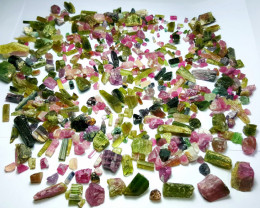 Amazing Natural Max colors gemmy quality Tourmaline Parcel 1975Cts-A