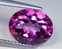 4.11 ct Top Quality Gem Stunning Oval Cut Natural Pink Topaz