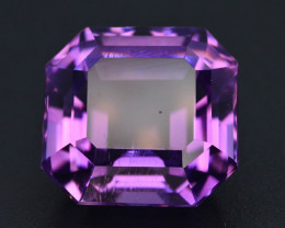 Top Color 20.10 ct AAA Cut Untreated Amethyst~ AS