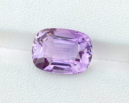 7.05 Ct Natural Purple Internally Flawless Amethyst Gemstone