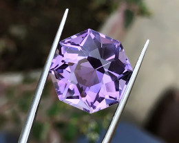 11.35 Ct Natural Purple Internally Flawless Amethyst Gemstone
