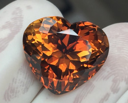 14.98 CT RARE GRI CERTIFIED HOT LUSTER NATURAL SHERRY TOPAZ