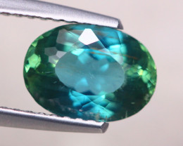 1.80ct Natural Green Apatite Oval Cut Lot V7682