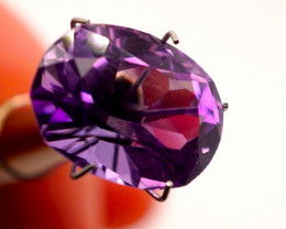 7.73 CT Unheated Rich Purple Amethyst (Uruguay)