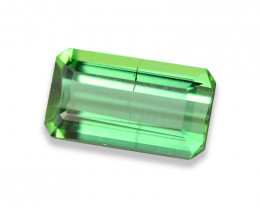 0.977 Cts Fabulous Green Tourmaline
