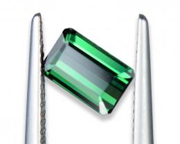 1.201 Cts Pretty Green Tourmaline