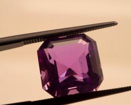 6.68 CT Unheated Intense Purple Amethyst (Uruguay)