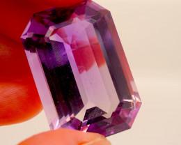 76.96 CT Unheated Rich Purple Amethyst (Uruguay)