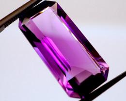 12.86 CT Unheated Vivid Purple Amethyst (Russia)