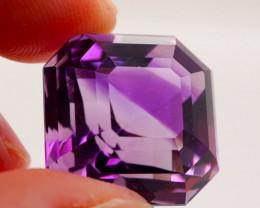 25.24 CT Unheated Purple Amethyst (Uruguay)