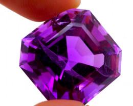 33.76 CT Unheated Rich Purple Amethyst (Uruguay)