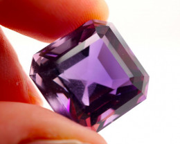 23.67 CT Unheated Intense Purple Amethyst (Uruguay)