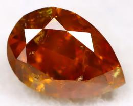 Intense Orange Diamond 0.26Ct Natural Unheated Fancy Diamond A2805