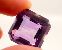 24.56 CT Unheated Purple Amethyst (Uruguay)