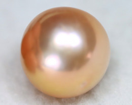 South Sea Pearl 12.5mm Natural Australian Pink Color Salt Water Pearl A2718