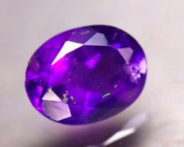 Amethyst 1.63Ct Natural Uruguay Electric Purple Amethyst D2703/A2