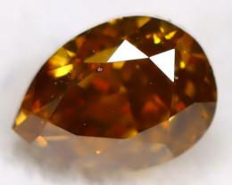 Orange Diamond 0.23Ct Untreated Genuine Fancy Diamond B2803