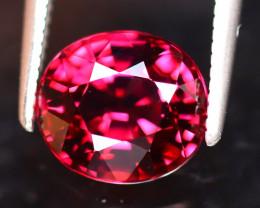 Rhodolite 2.41Ct Natural VVS Purplish Red Rhodolite Garnet DAF2722/A5