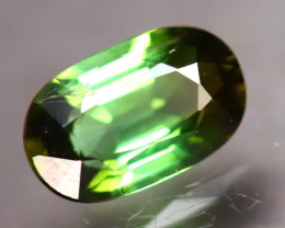Tourmaline 1.39Ct Natural  Green Color Tourmaline DF2727/B19