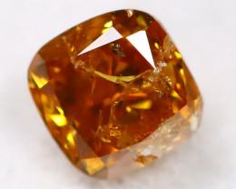 Intense Orange Diamond 0.27Ct Natural Unheated Fancy Diamond A2817