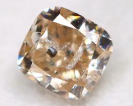 Peach Pink Diamond 0.21Ct Natural Untreated Fancy Diamond B2815