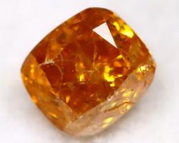 Intense Orange Diamond 0.23Ct Natural Unheated Fancy Diamond C2803